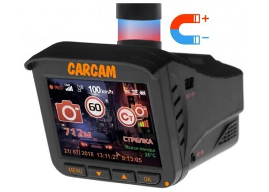 Видеорегистратор с радар-детектором CARCAM COMBO 5 LITE