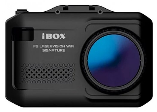 Видеорегистратор с радар-детектором iBOX F5 Laservision WiFi Signature, GPS, ГЛОНАСС