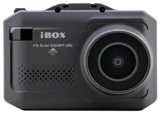 Видеорегистратор с радар-детектором iBOX F5 SLIM SIGNATURE A12, GPS, ГЛОНАСС