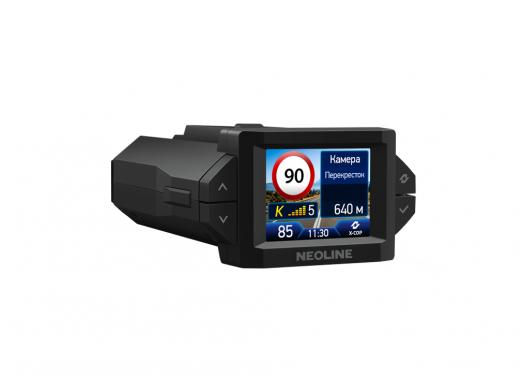 Видеорегистратор с радар-детектором Neoline X-COP 9300C, GPS