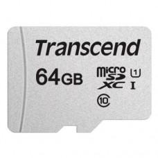 Карта памяти Transcend 300S micro SDHC Card U1 UHS-I 64GB (100Mb/s. 450x), class 10 U1