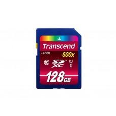 Карта памяти Transcend Premium SDXC Card U1 UHS-I 128GB (90Mb/s. 400x), class 10