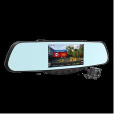 Видеорегистратор зеркало с радар-детектором INTEGO VX-685MR