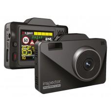 Видеорегистратор с радар-детектором Inspector Piranha, GPS, ГЛОНАСС