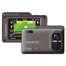 Видеорегистратор с радар-детектором Inspector Scat SE (Quad HD) GPS ГЛОНАСС