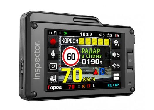 Видеорегистратор с радар-детектором Inspector SCAT S, GPS