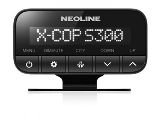 Радар-детектор NEOLINE X-COP S300 с раздельной установкой